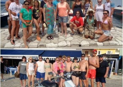 Paxos and Blue Lagoon Cruises 17 6 2017