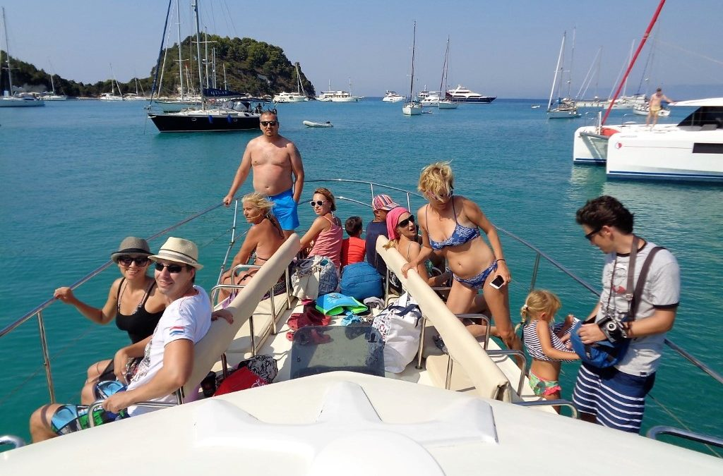 Paxos Afternoon Cruise 20 8 2017