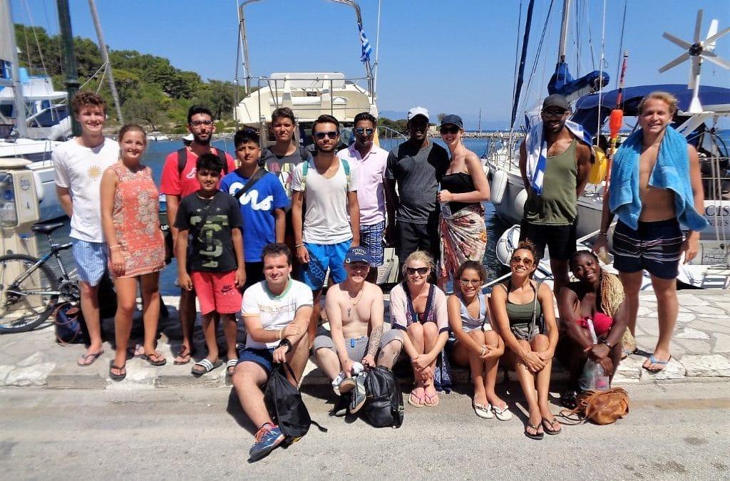 Paxos Cruise 27 8 2017