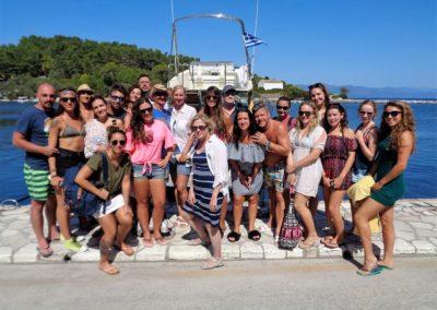 Paxos Cruise 14 9 2017 Gaios Port