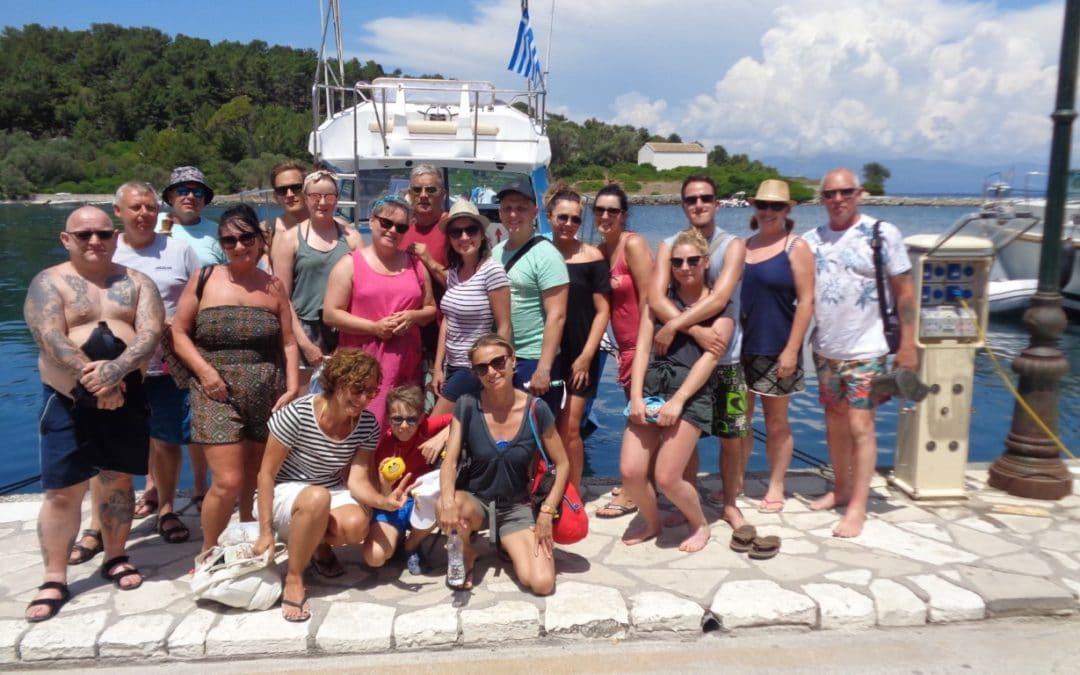 Paxos Cruise 14 6 2018 Gaios Port