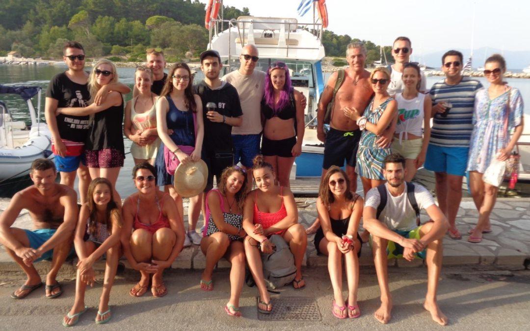 Paxos Sunset Cruise 22 7 2018