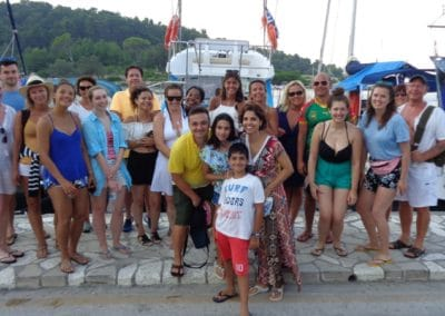 Paxos Sunset Cruise 27 7 2018
