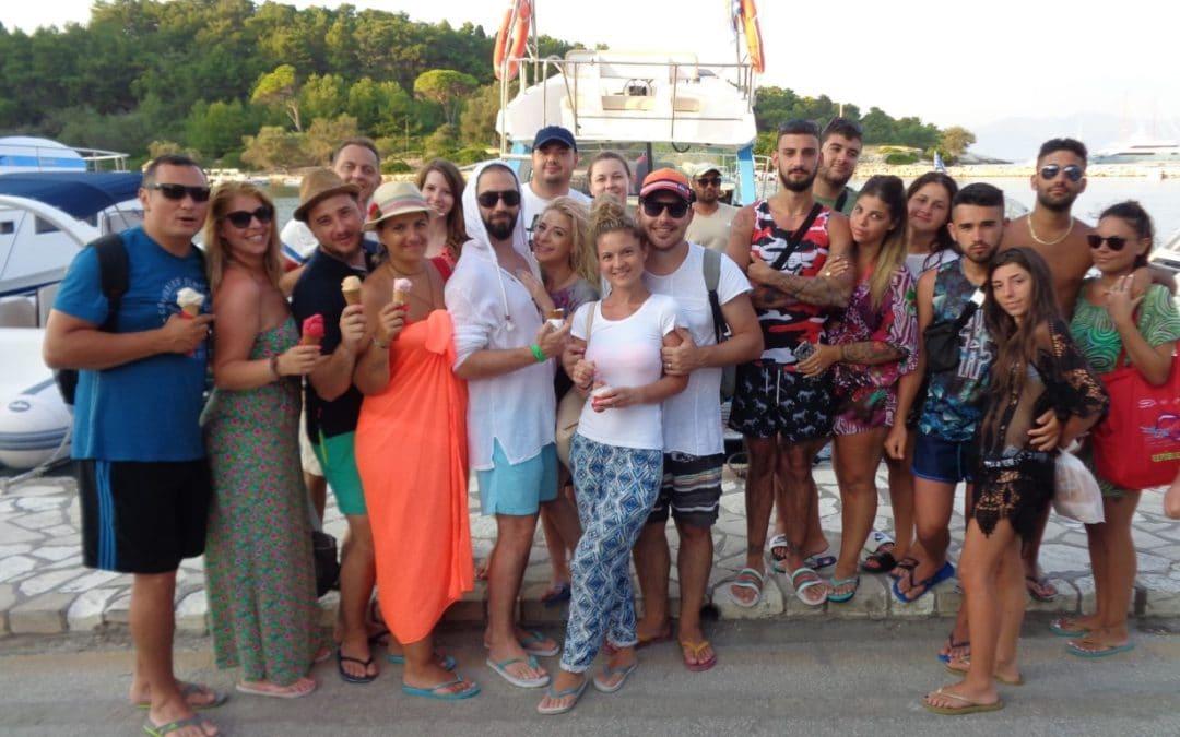 Paxos Sunset Cruise 30 8 2018