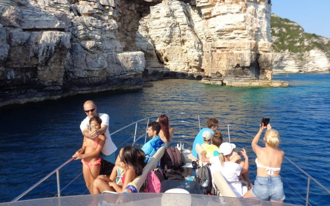 Paxos Sunset Cruise 5 8 2018