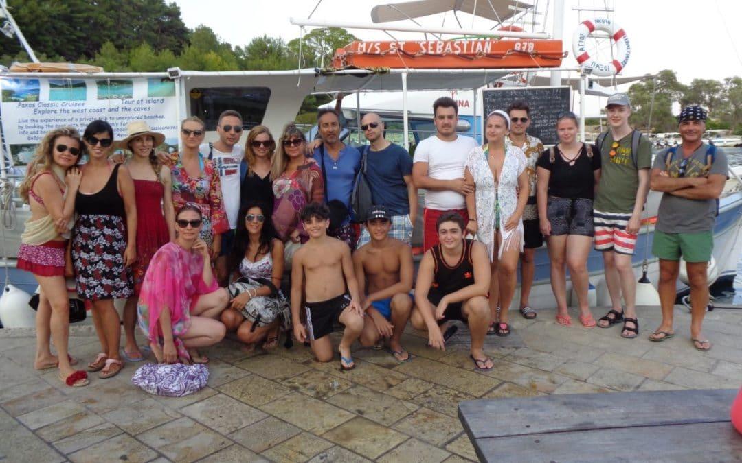 Paxos Sunset Cruise 22 8 2019